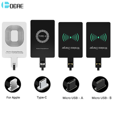 Wireless Charger Receiver For iPhone 7 6 6s Plus 5s 5 SE Qi