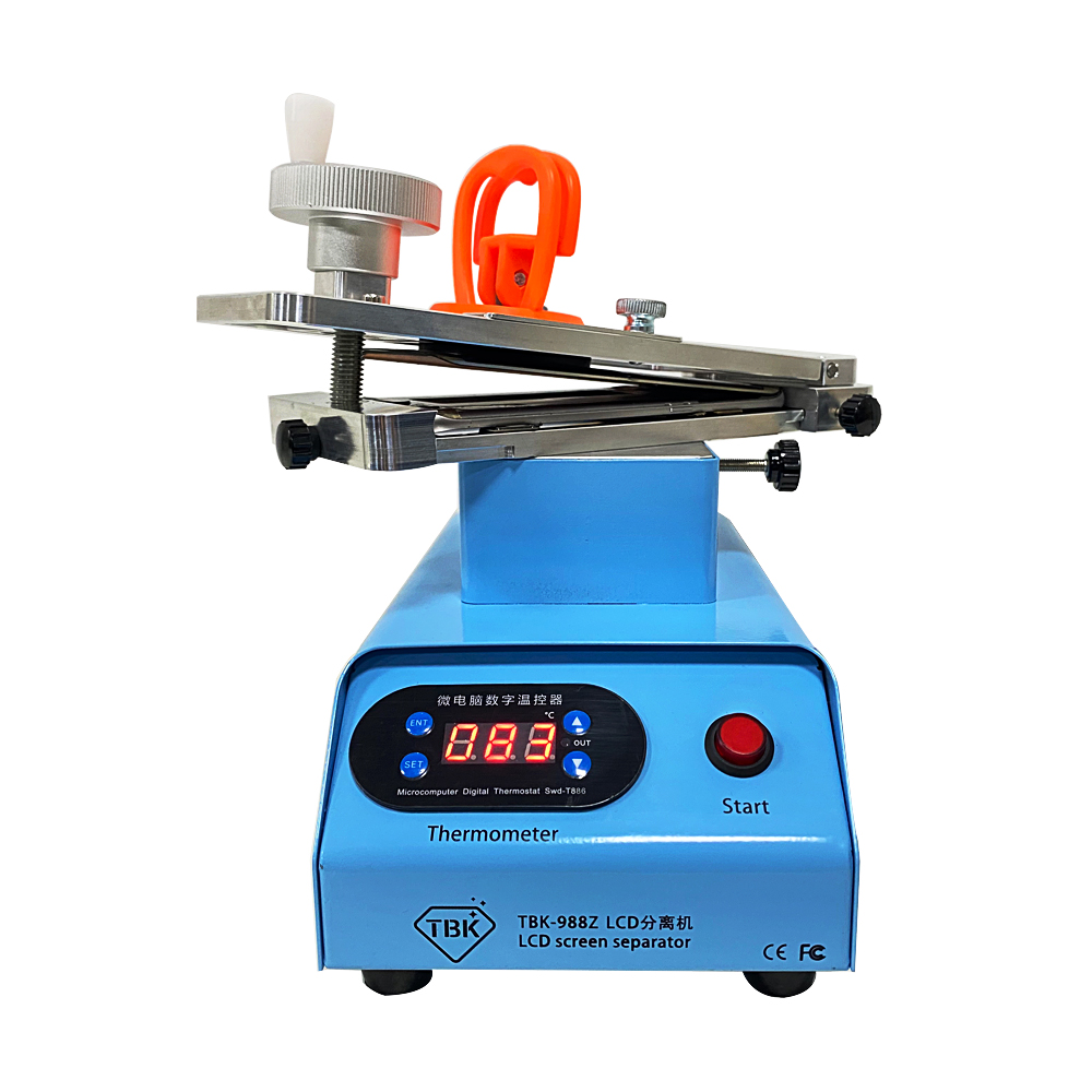 Tools : TBK 988C Built-in Double Vacuum Pumps Flat Edge LCD Touch Screen Rotary Separator Machine for Max 7 Inches