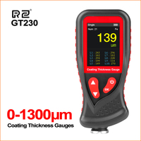 RZ Thickness Gauges Paint Coating Thickness Gauge Car Film Digital Thickness Gauge Tester Rechargeable Thickness Gauge