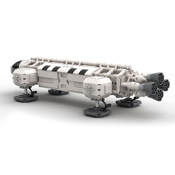 MOC Star Series Wars   Spaceport Space Eagle The Shuttle Launch Center Bricks Building Block Diy Assemble Toys For Children space station saturn v rocket building blocks city shuttle launch center atellite astronaut figure bricks set children toys gift