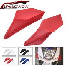 2 шт/компл набор динамических крылышков для мотоцикла скутера