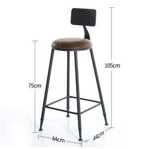 Image 4 - Taburete fauteuil sandalyesi hokery sedia banquetaトドスサントスtiposみすぼらしいシックなtabouretデ近代スツール現代新羅バー椅子