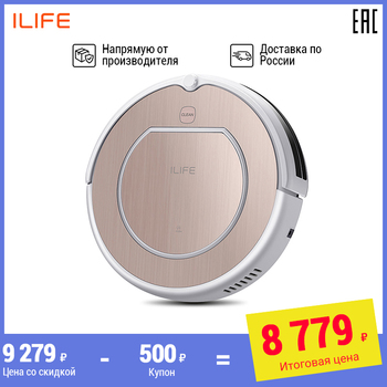 AliExpress - 23% Off: Robot vacuum cleaner iLife V50 pro with memory function-quiet, powerful, route memory, 120 min work