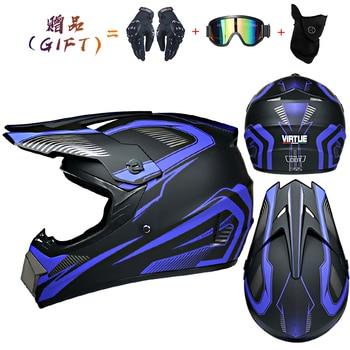 Motor Bike Cross Racing Motorcycle Helmet Safety Enduro Capacete Motorrad Cascos Downhill Bicycle Engine Cafe Racer ATV Helmets 12