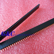 3Pcs 2.54mm 40 Pin Female Head Single Row Pin Header Strip New Electronic