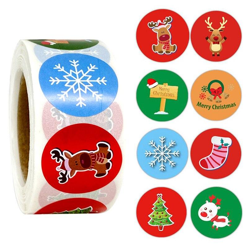adesivos recompensa para decoracao natal 01