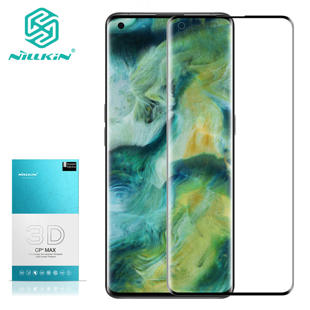 For OPPO Find X2 Glass NILLKIN Amazing 3D CP+MAX Anti-Explosion Screen Protector For OPPO Find X2 Pro Tempered Glass