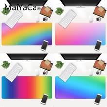 Maiyaca радужные цвета резиновый коврик для мыши игровой xxl