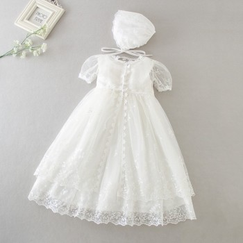 Baby Girl Newborn Dress Birthday Dress Christening Gown Baby Party Dress christmas clothes  1 year girl baby birthday dress elegant baby flower girl dresses with bow newborn party dress christening dress baptism gown tulle 1st birthday dress