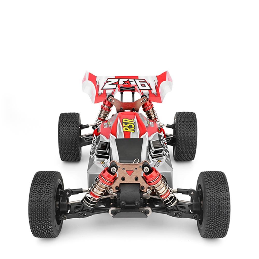 WLtoys 1/14 144001 RTR 2.4GHz RC voiture échelle dérive course voiture 4WD métal châssis arbre roulement à billes engrenage hydraulique choc absobre - 5