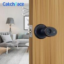 Биометрический дверной замок из цинкового сплава, водонепроницаемый электронный дверной замок