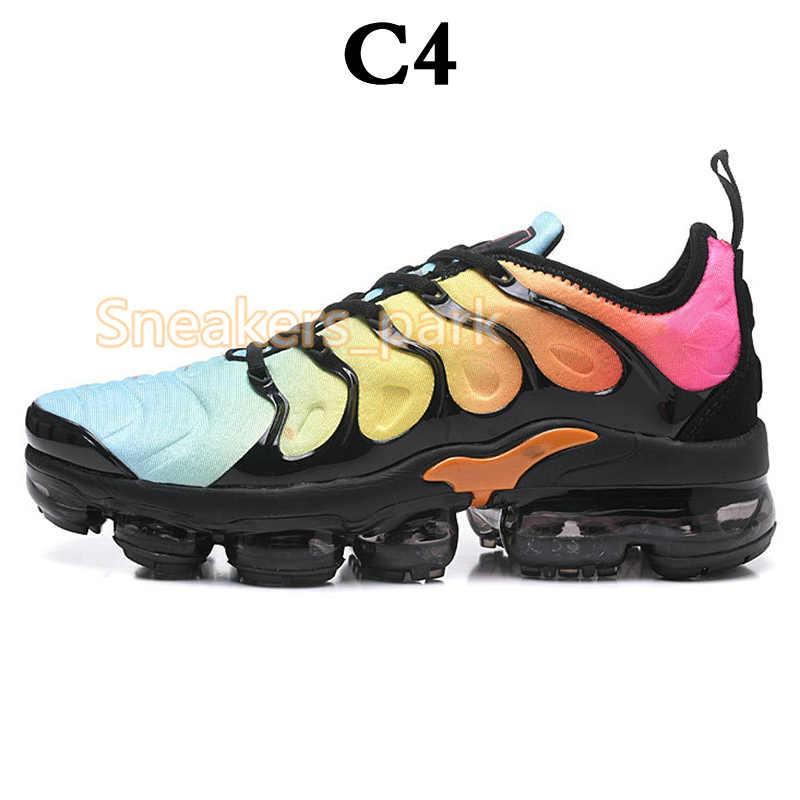 2019 Дрон TN плюс мужские кроссовки тройной черный белый закат фото синий Женская обувь Дизайнерская обувь спортивные кроссовки