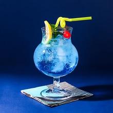 Ins сетевой Красный Ресторан стекло сверкающей соды воды, ju чашка для льда высокая иена значение Девушки Сердце