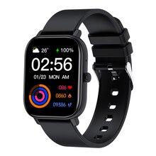 Смарт-часы для мужчин и женщин, сенсорный экран 1,6 дюйма, Bluetooth, пульсометр, тонометр