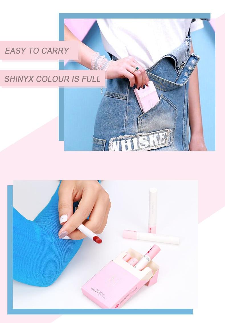 H7a507b8c1bfb4e1393350f75c6ddd69aT Velvet matte Cigarette Lipstick - WaterProof