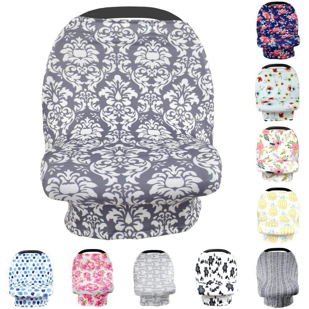 Baby Car Seat Canopy Pram Sun Shade Breastfeeding Towel Windproof Stroller Cover New