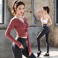 Yoga Clothing Sports Clothing Womens Fitness Suits Women Gym Set Yoga Wear Fitness Bra Long Sleeve Shirt Leggings Pants 3 Piece