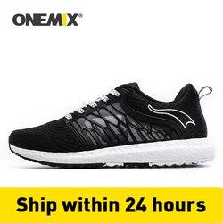 Onemix جديد للجنسين الاحذية شبكة تنفس الرجال أحذية رياضية فائقة ضوء المرأة عشاق المشي الأحذية