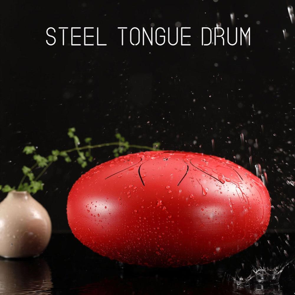 Tambour de langue en acier allié 10 pouces