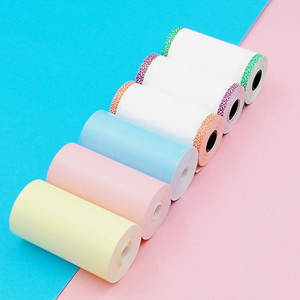 Printer-Paper-Rolls Peripage for A6 Pocket P1/P2 57--30mm 6pcs Direct