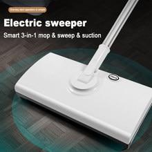 Fregona eléctrica inalámbrica multifuncional para el hogar, aspirador de mano para suelo húmedo y seco con carga USB, para limpieza de alfombras