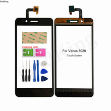5.0'' Touch Screen For Venus 5020 Touch Screen Mobile TouchScreen Front Glass Digitizer Repair Front Glass Tools Adhesive