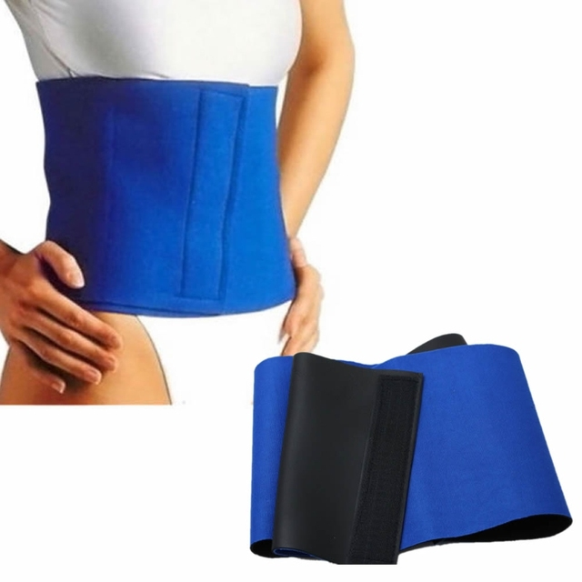 Waist Trimmer Exercise Burn Fat Sweat Weight Loss Slimming Body Shaper Wrap Belt DXAA