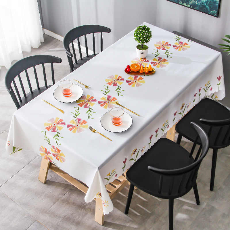Waterproof Pvc Table Cloth Oil Proof