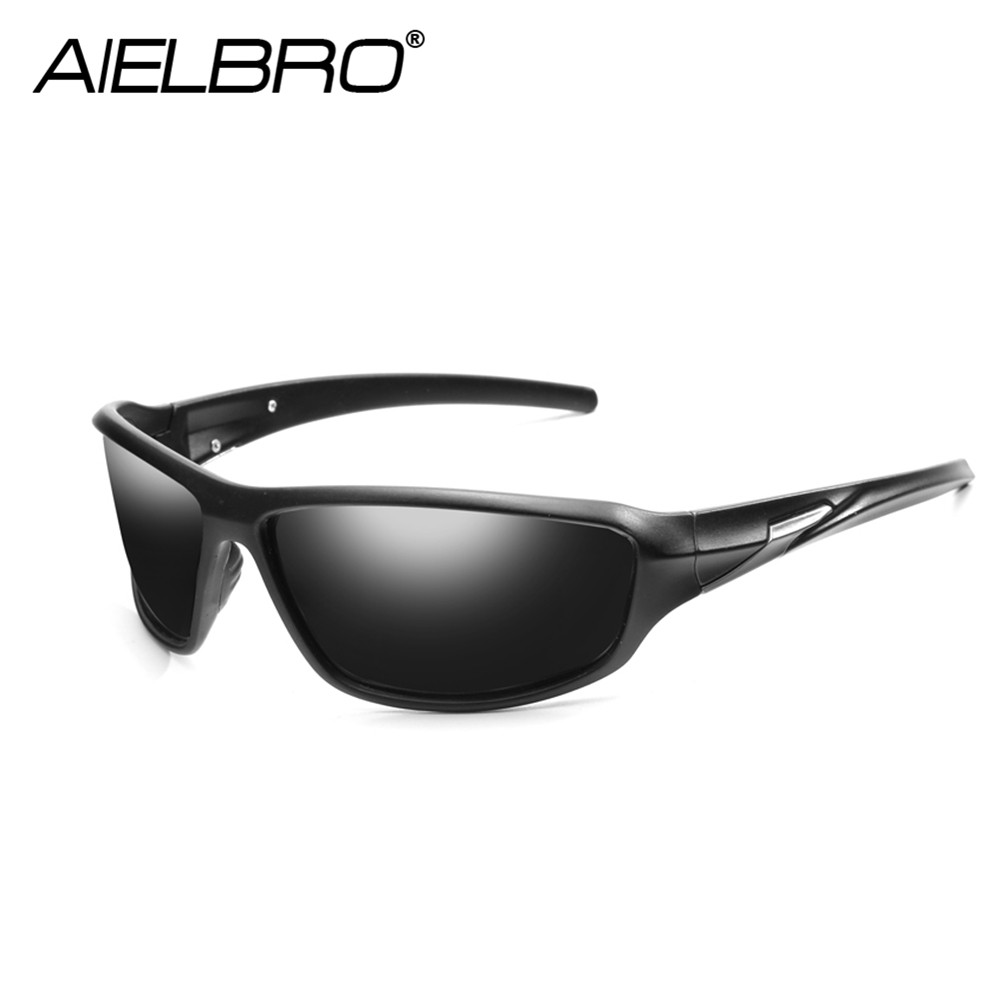 AIELBRO Hot Sale Men Polarized Night Vision Lens Sunglasses Women Safety Driving Sun Glasses Fashion Driving UV400 Goggles Gafas