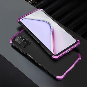 Luksusowa, wąska, pełna ochrona, odporna na wstrząsy obudowa do Huawei Honor X10 30 View30 V30 Pro 30s widok 20 aluminiowa metalowa obudowa do komputera