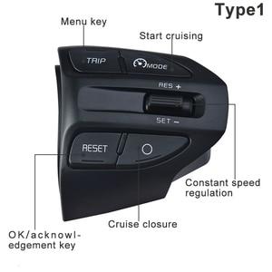 Image 3 - ESPEEDER Car Steering Wheel Button Bluetooth Phone Cruise Control Volume For KIA K2 RIO 2017 2018 RIO X LINE Car Accessories