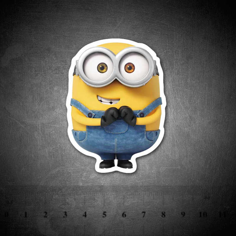 Despicable Me Minions Stickers Voor Kids Diy Graffiti Cartoon Gitaar Bagage Skateboard Fiets Waterdichte Pvc Laptop Sticker