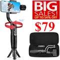 Hohem iSteady Мобильный плюс смартфон карданный стабилизатор для iPhone 11/11 Pro/Pro Max для Galaxy S10/Plus/S9 для видеоблоггера