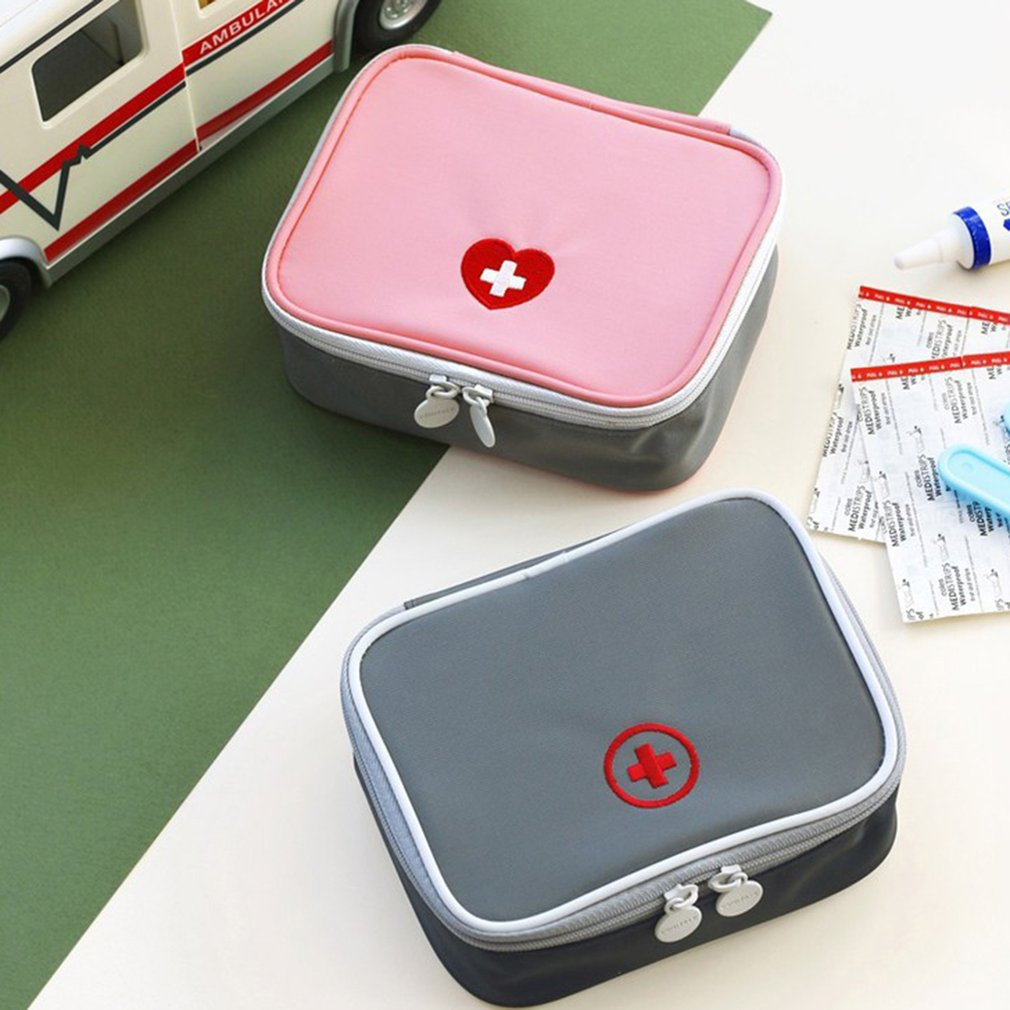 Mini Outdoor First Aid Kit Bag Travel Portable Medicine Package Emergency Kit Bags Medicine Storage Bag Small Organizer New