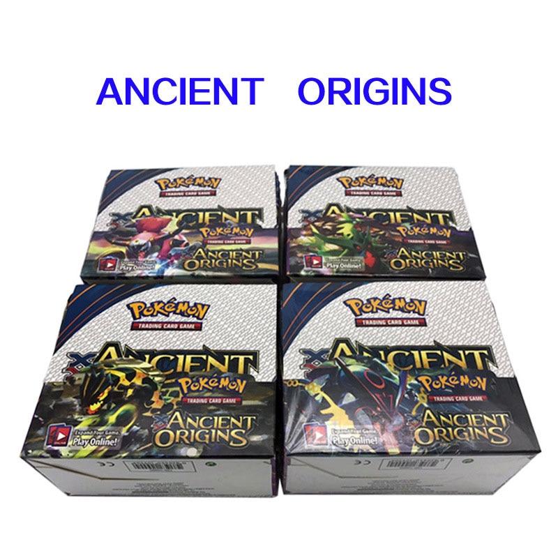 324 Pcs English Pokemon TCG: A Variety  New Sun Moon Bonds Boost Box Trading Card Game Kids Favorite Toys