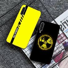 Vàng Cảnh Báo Ốp Lưng Điện Thoại Samsung Galaxy S 7 8 9 10 20 Edge 6 10 20 30 50 51 70 Note 10 Plus