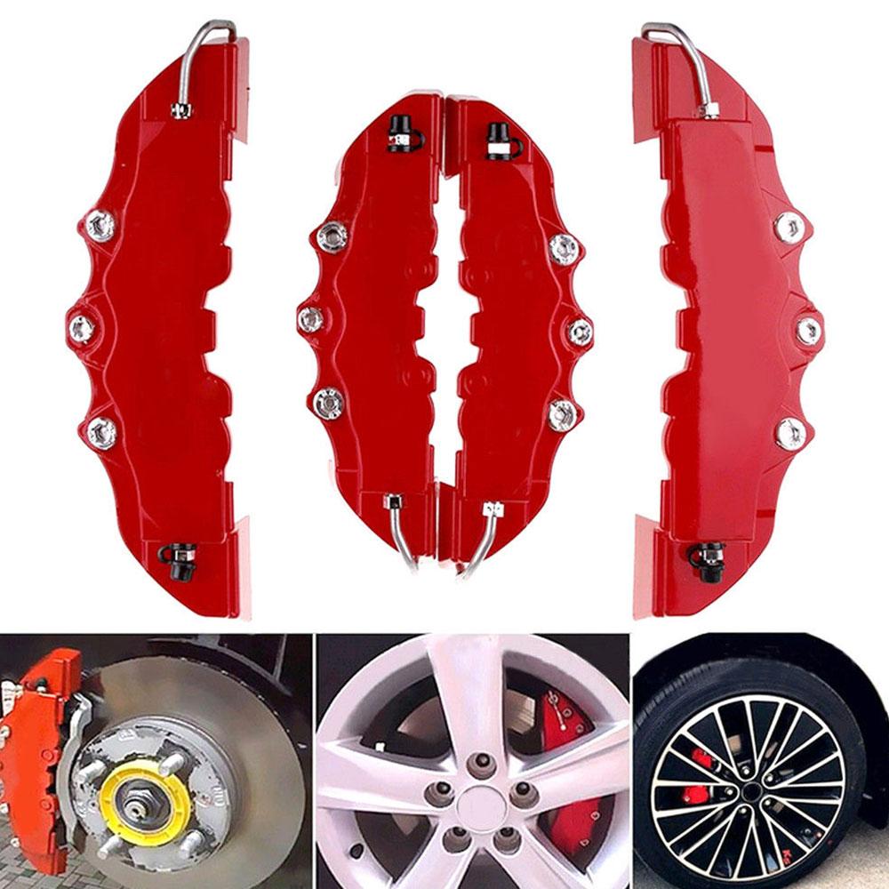 Lot de 2 cache-/étriers de frein 3D en plastique ABS pour la plupart des d/écorations avant et arri/ère de voiture