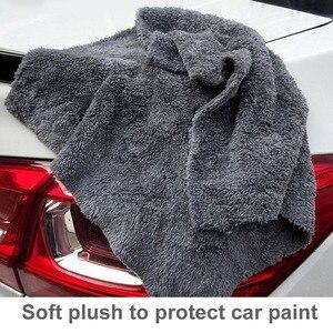 Image 3 - 40x40cm Extra Soft Car Wash Microfiber Towel Car Cleaning Drying Cloth Car Care Cloth Detailing Car WashTowel Never Scrat