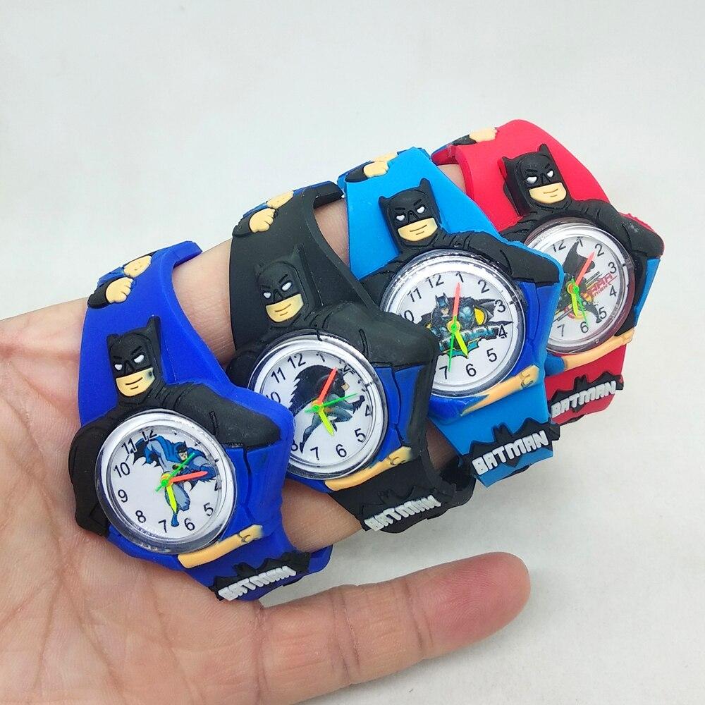 Black Cartoon Batman Watch For Kids Children Gift Student Clock Children Watch Boys Girls Kids Quartz Digital Watches Relogio