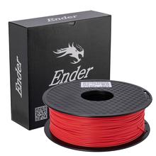 Creality 3D drukarka PLA Ender 1KG 1 75MM PLA materiały do drukowania PLA Filament do Ender-3PRO Ender-5PRO CR-10s proV2 Ender-3 V2 tanie tanio CN (pochodzenie) Stałe PLA 1 75mm 1 75 mm White Black Grey Red Green Orange Blue etc 190-230 C