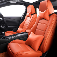 Custom car leather seat cover For Porsche Cayenne 955 957 958 Macan accessories covers for car seats