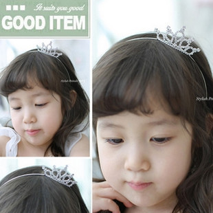 South Korea CHILDREN'S Crown Headband, Hair Bands Children Head Accessories Princess Crown