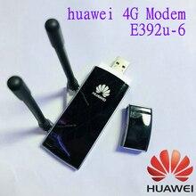 Huawei E392u 6 4g usb dongle 100 m cartão de dados fdd850/2100 mhz desbloqueado 4g modem com antena frete grátis