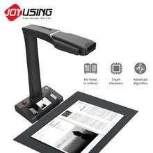 JOYUSING V160Pro Portable 18MP HD Doc Cam Book Scanner, A3 Document Scanner with OCR Visualizer for Office Library School