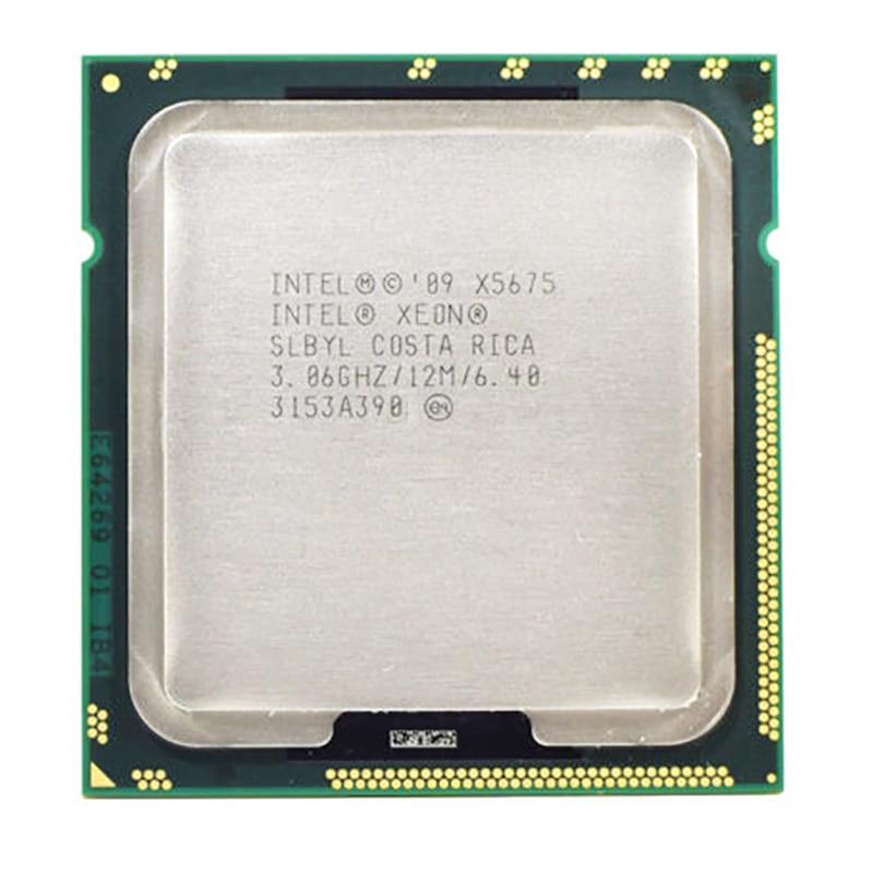 For Intel Xeon Six-Core X5675 SLBYL 3.07GHz 12MB 6.40GT/s Socket LGA1366 CPU