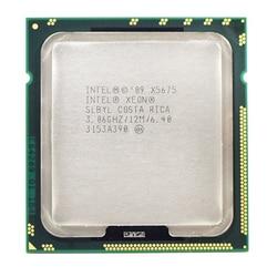 Para intel xeon seis-core x5675 slbyl 3.07 ghz 12 mb 6.40gt/s soquete lga1366 cpu