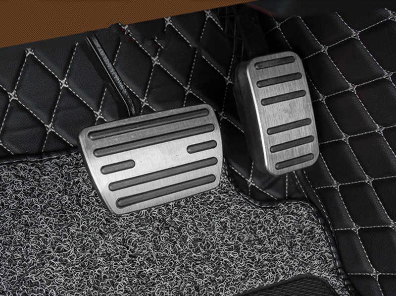per Honda Civic 2016 Accessori per Copri Pedali per Auto in Acciaio Inossidabile AT MT Pedali CRV CR-V 2017+ JIERS Auto Pedaliera Copertura