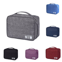 New Men Women Digital Storage Bag Multifunctional Travel Bag Mobile Power Data Line Travel Storage Bag Waterproof Travel Bag
