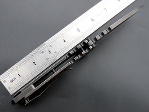 Image 5 - Eafengrow MDF 3 折りたたみ石洗浄鋼ハンドル 440 ブレイド狩猟戦術的なナイフ屋外のキャンプナイフ EDC ツール