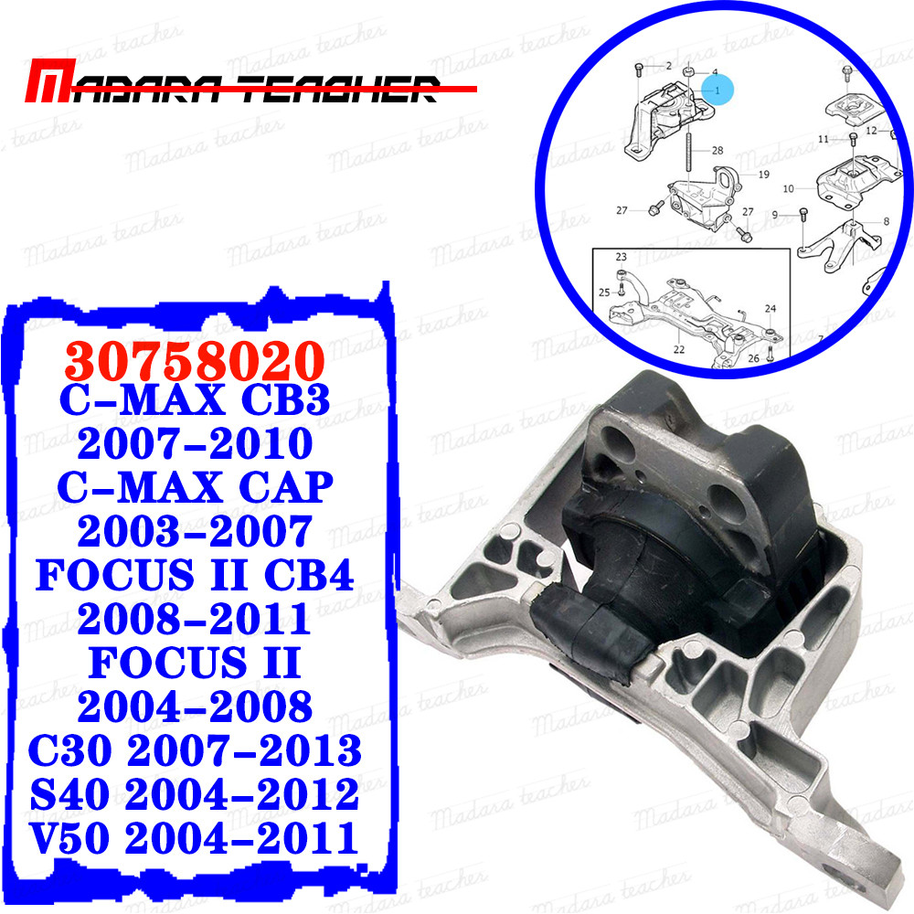 New Front Right Motor Mount For 2004-2011 Mazda 3 2.0L A4402 EM5375 5375